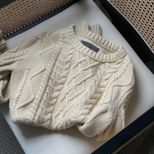Cream Cable Knit